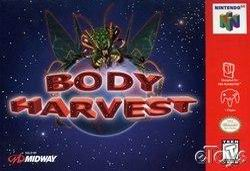 Body Harvest (USA) Box Scan
